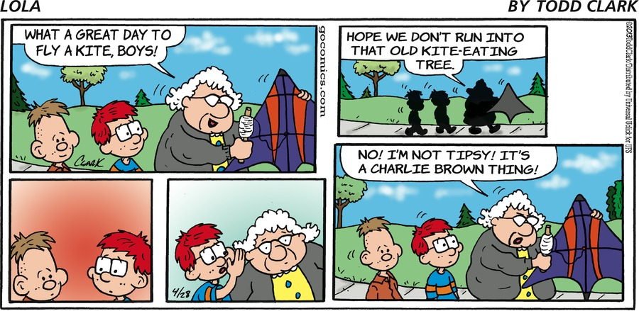 Lola for Apr 28, 2013 Comic Strip