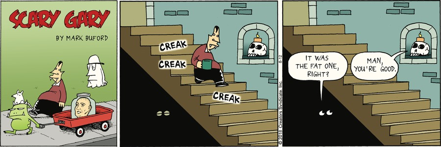 Scary Gary Comic Strip for August 12, 2018