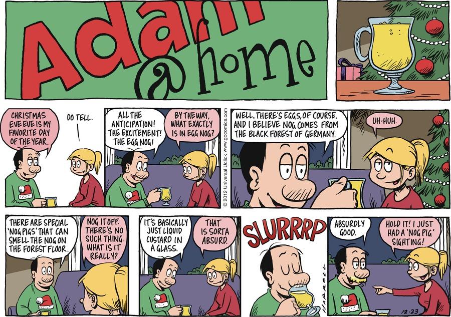 Adam@Home Comic Strip for December 23, 2012