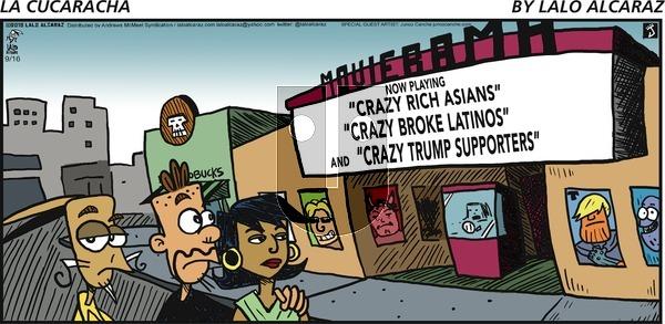 La Cucaracha on Sunday September 16, 2018 Comic Strip