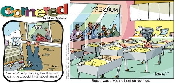 Cornered on Sunday June 19, 2016 Comic Strip