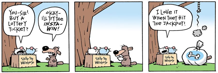 Ten Cats for Jul 3, 2013 Comic Strip