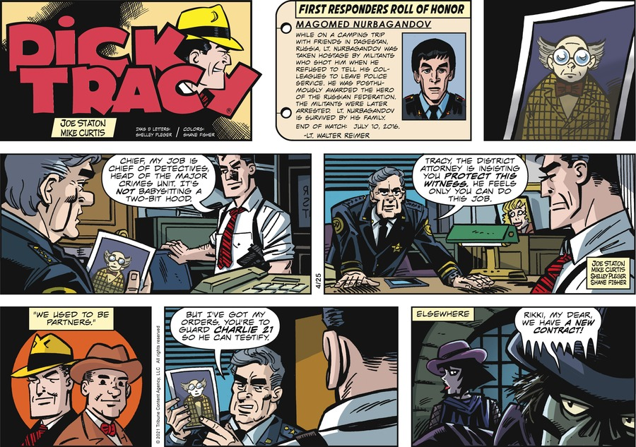 Dick Tracy by Joe Staton and Mike Curtis on Sun, 25 Apr 2021