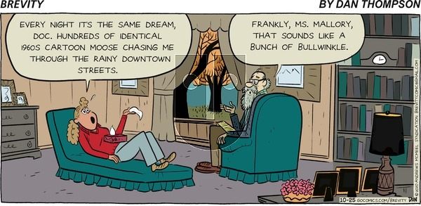 Brevity on Sunday October 25, 2020 Comic Strip