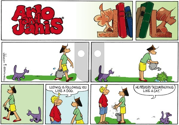 Arlo and Janis on Sunday August 1, 2004 Comic Strip