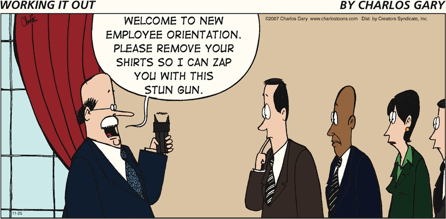 Working It Out Comic Strip for November 25, 2012