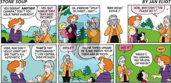 Stone Soup on Sunday August 2, 2020 Comic Strip