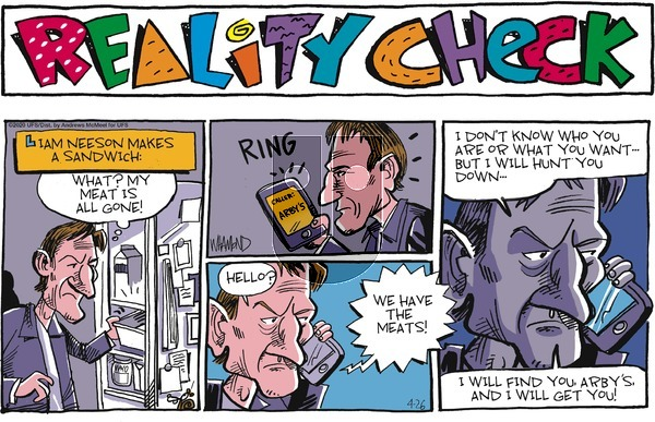 Reality Check on Sunday April 26, 2020 Comic Strip