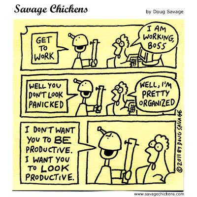 Boss: Get to work