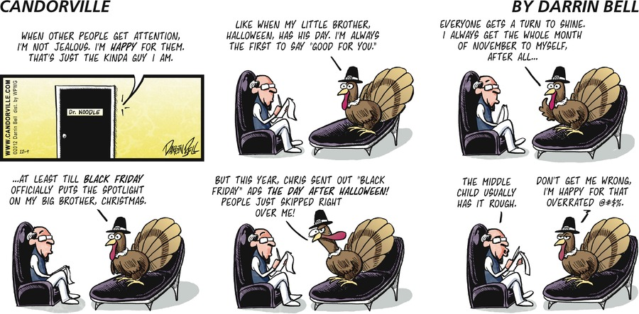 Candorville for Dec 9, 2012 Comic Strip