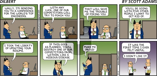 Dilbert on Sunday August 5, 2012 Comic Strip