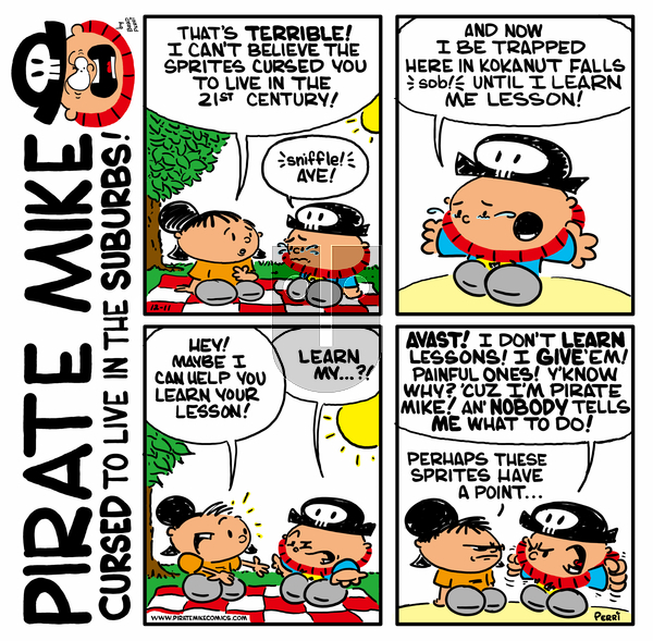 Pirate Mike on Friday April 17, 2020 Comic Strip