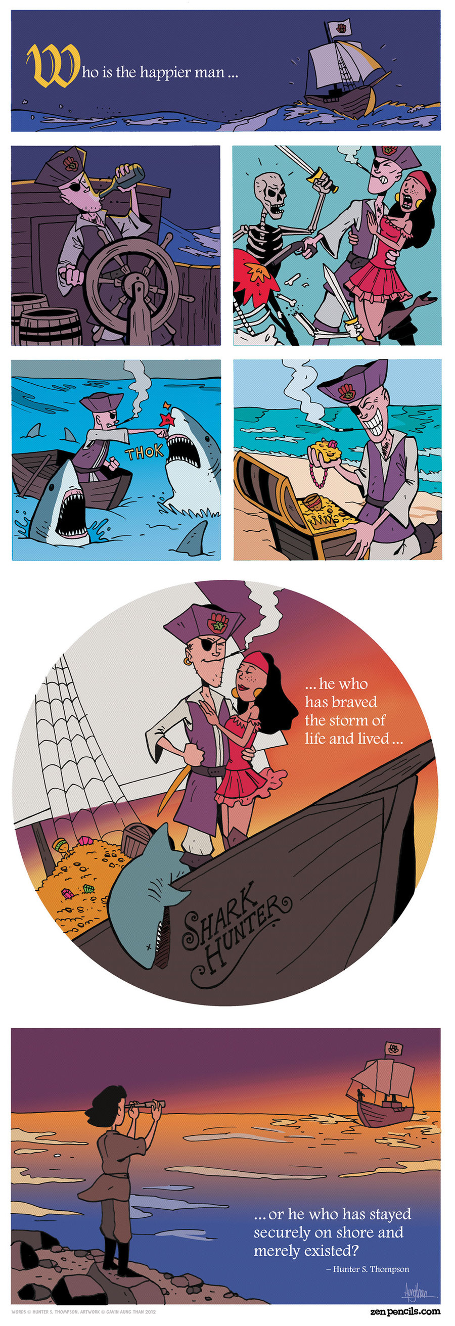 Zen Pencils for Sep 20, 2013 Comic Strip