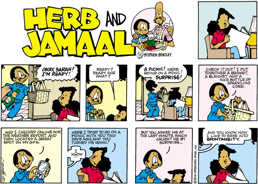 Herb and Jamaal Comic Strip for November 17, 2019