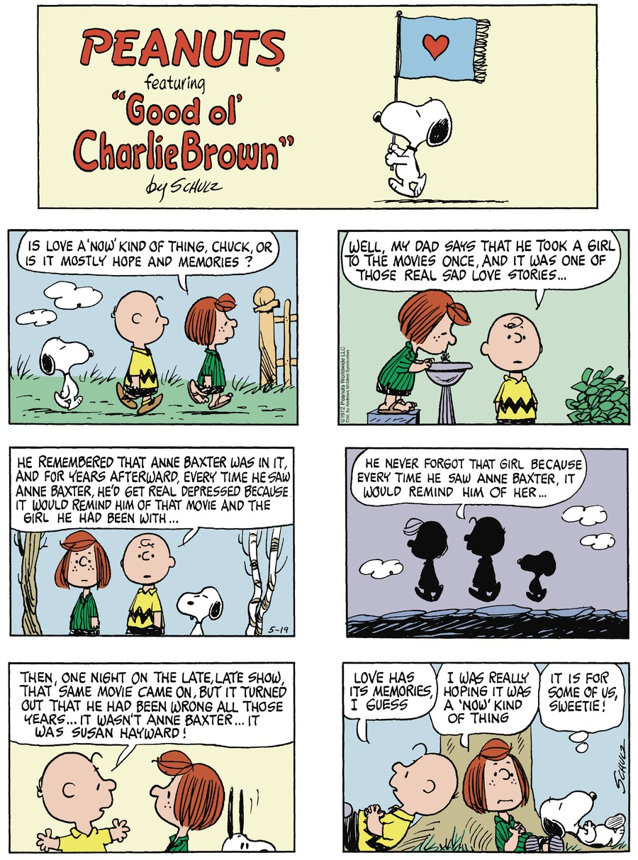 Peanuts Comic Strip for May 19, 2019