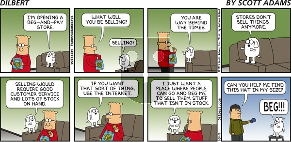 Dilbert on Sunday June 30, 2019 Comic Strip