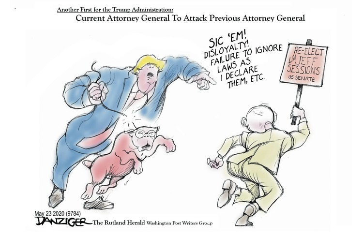 Jeff Danziger Comic Strip for May 24, 2020