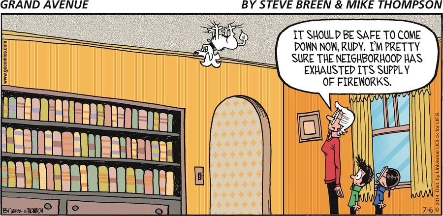 Grand Avenue Comic Strip for July 06, 2014