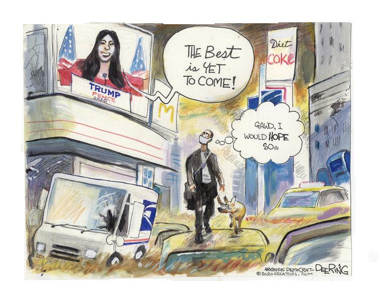 John Deering Comic Strip for August 27, 2020