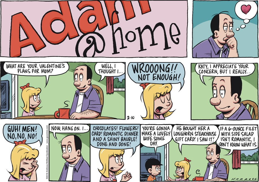 Adam@Home Comic Strip for February 10, 2019