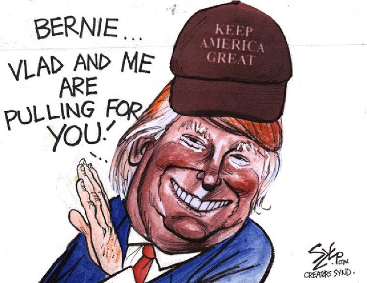 Paul Szep Comic Strip for February 24, 2020