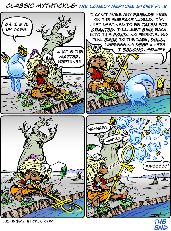 MythTickle for May 3, 2013 Comic Strip