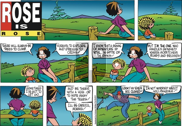 Rose is Rose on Sunday May 13, 2018 Comic Strip