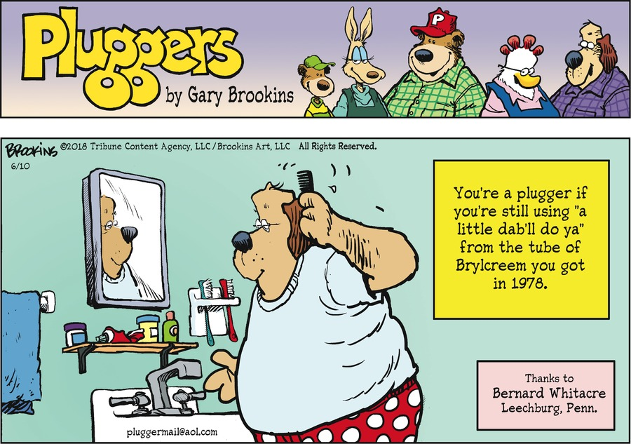 Pluggers Comic Strip for June 10, 2018