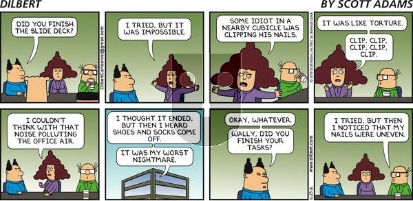 Dilbert on Sunday May 29, 2016 Comic Strip