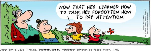 Frank and Ernest Comic Strip for October 16, 2002