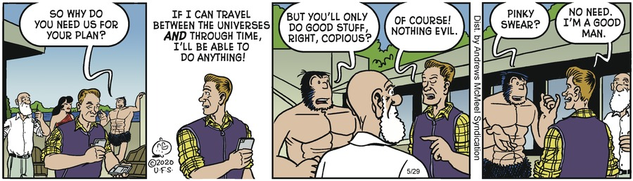 Alley Oop Comic Strip for May 29, 2020