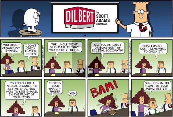 Dilbert - Sunday November 14, 2010 Comic Strip
