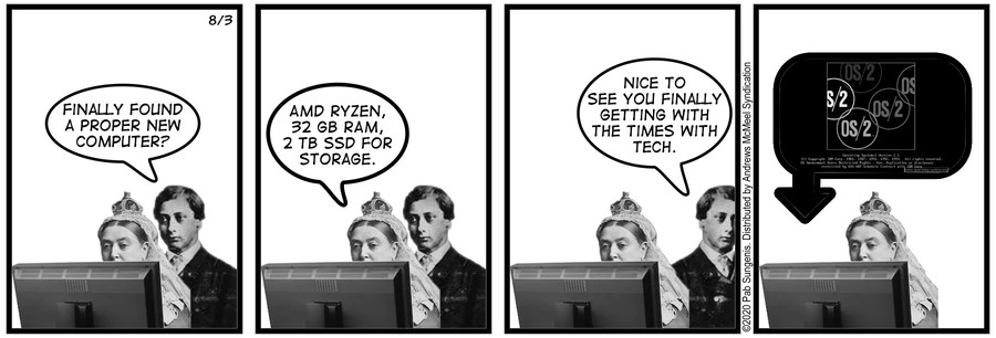 New Adventures of Queen Victoria Comic Strip for August 03, 2020