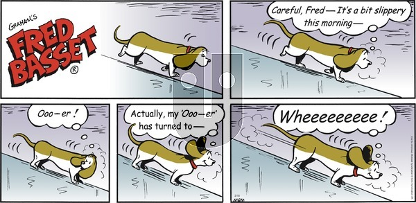Fred Basset on Sunday March 10, 2019 Comic Strip