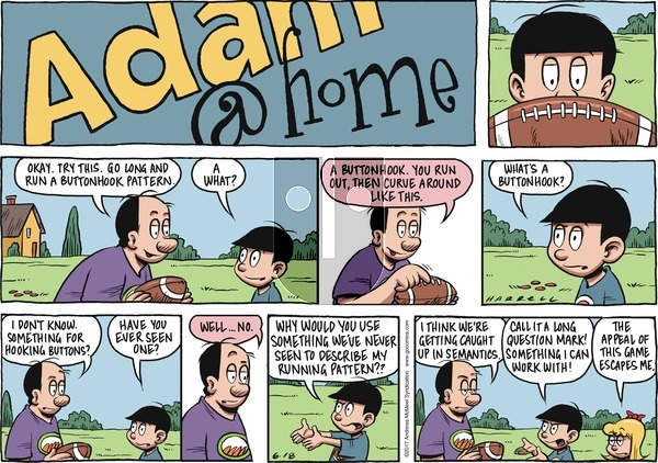 Adam@Home on Sunday June 18, 2017 Comic Strip