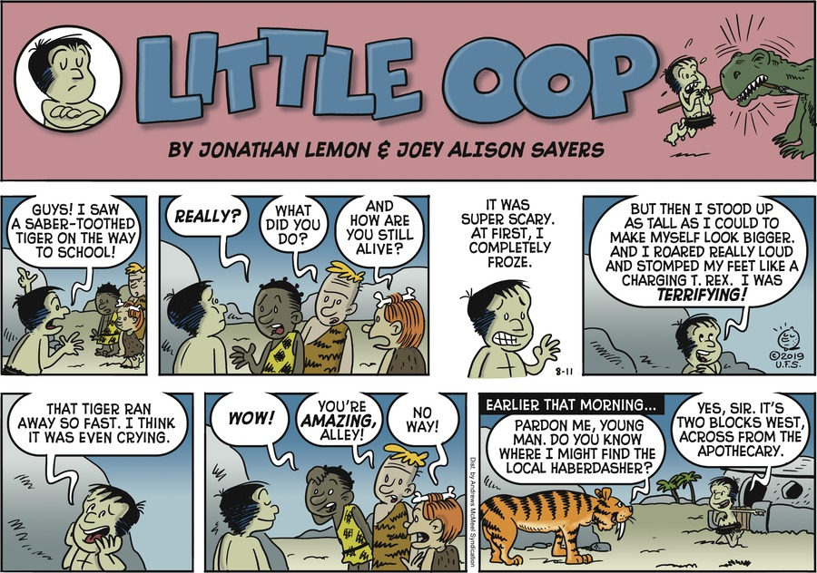Alley Oop Comic Strip for August 11, 2019