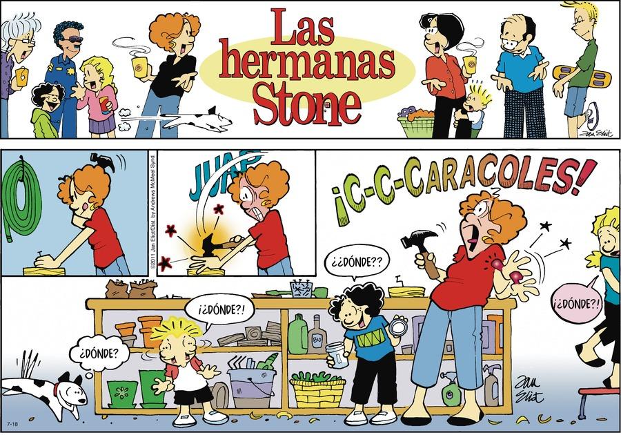 Las Hermanas Stone Comic Strip for July 18, 2021
