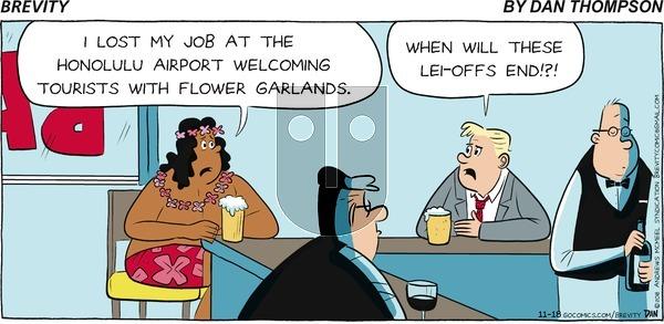 Brevity on Sunday November 18, 2018 Comic Strip