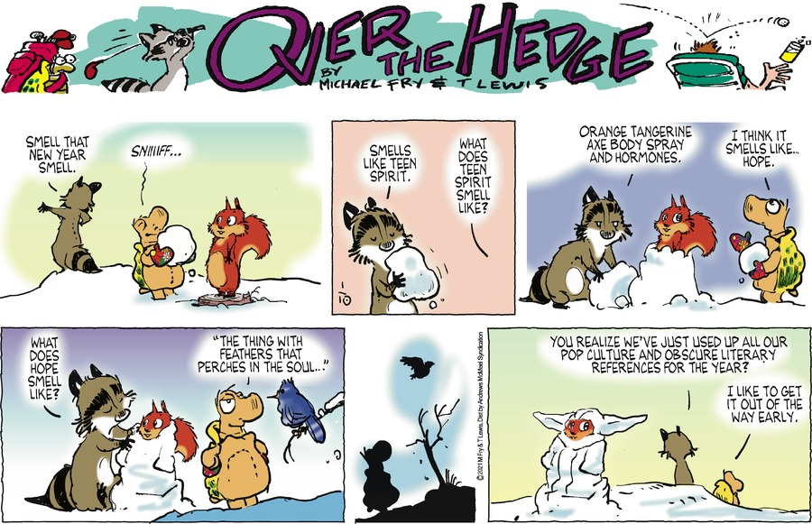 Over the Hedge Comic Strip for January 10, 2021