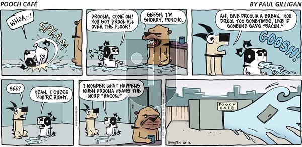 Pooch Cafe - Sunday December 16, 2012 Comic Strip