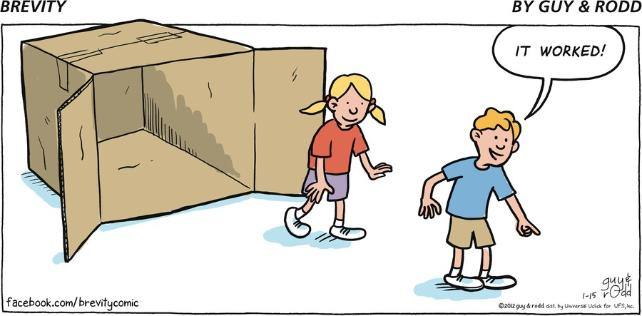 Brevity Comic Strip for January 15, 2012