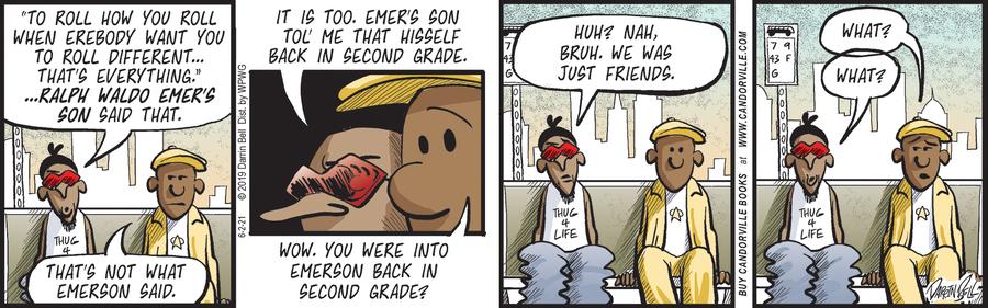 Candorville Comic Strip for June 02, 2021