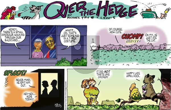 Over the Hedge on Sunday April 12, 2020 Comic Strip