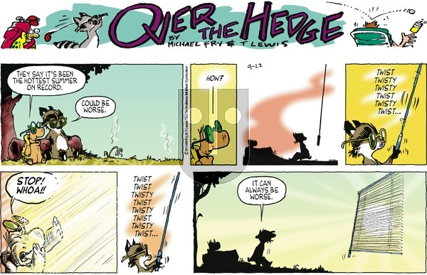 Over the Hedge on Sunday September 22, 2019 Comic Strip
