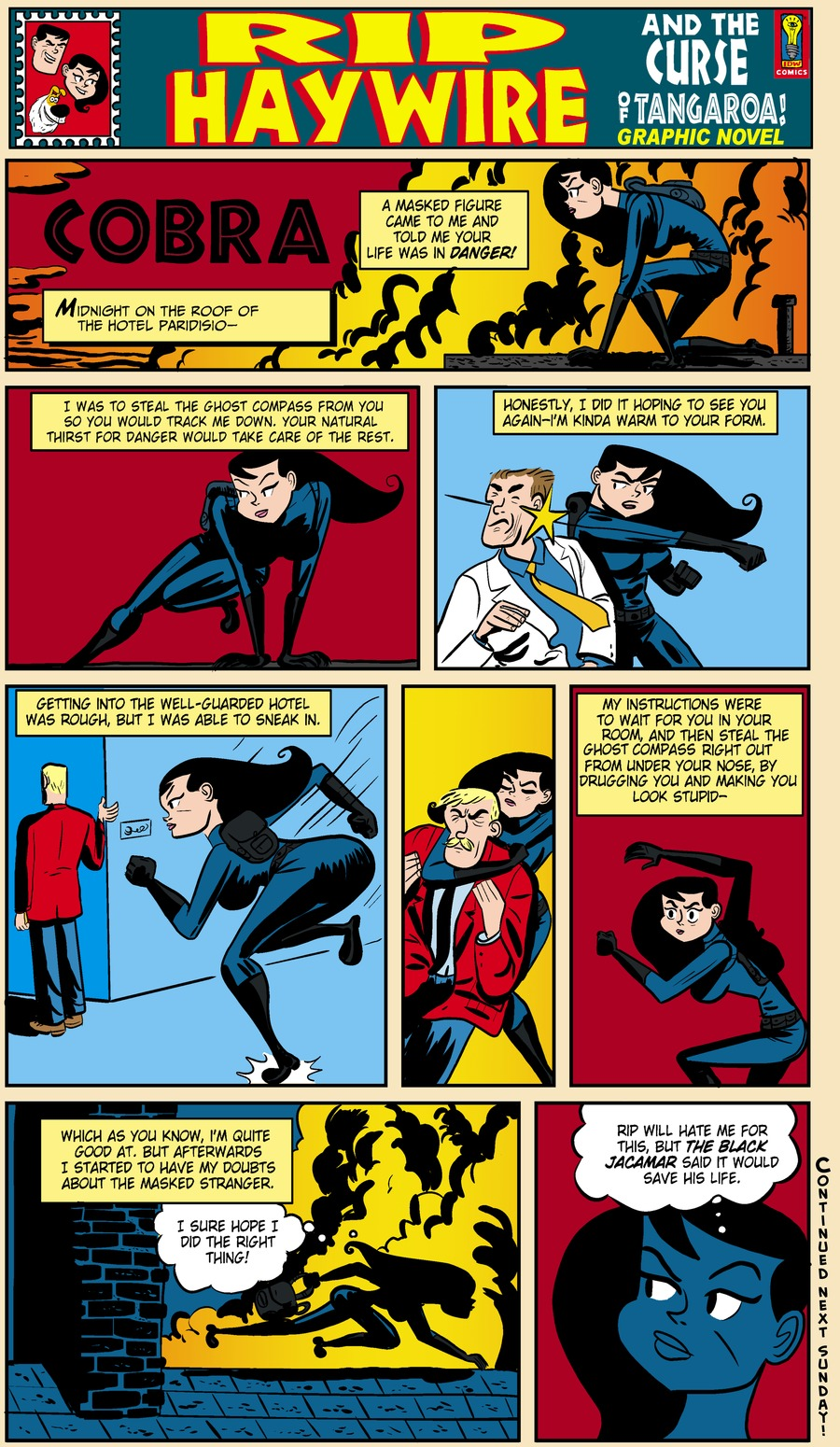 Rip Haywire Comic Strip for January 26, 2014