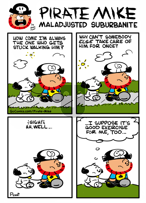 Pirate Mike on Wednesday April 7, 2021 Comic Strip