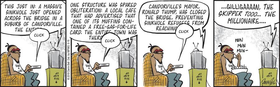 Candorville Comic Strip for June 16, 2018