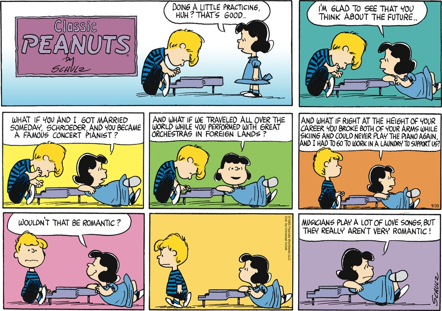 Peanuts Comic Strip for September 30, 2012