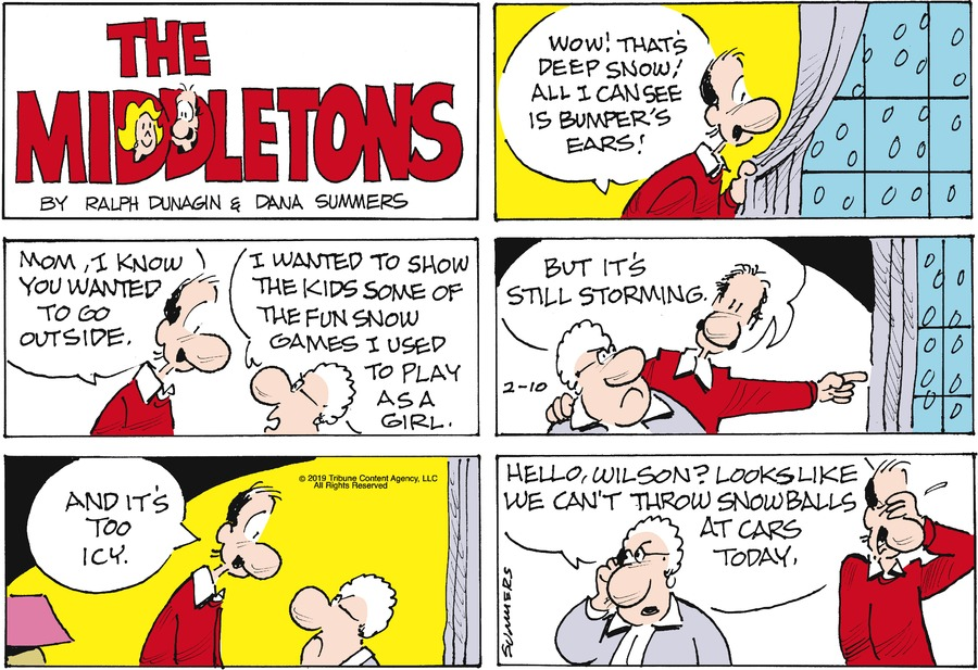 The Middletons Comic Strip for February 10, 2019