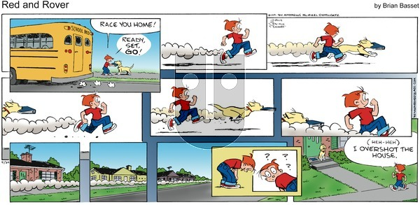 Red and Rover on Sunday September 29, 2019 Comic Strip